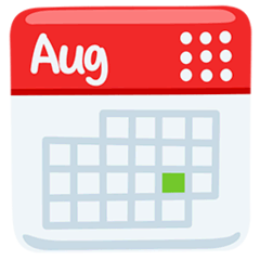 Calendario Emoji Messenger