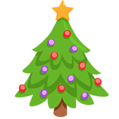 Christmas Tree Emoji in Messenger