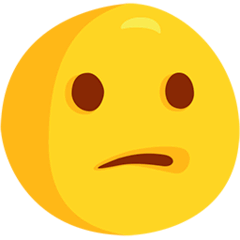 Confused Face Emoji in Messenger