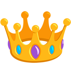 Crown Emoji in Messenger