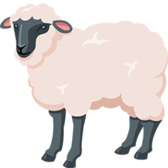 Ewe Emoji in Messenger
