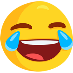 Face With Tears of Joy Emoji in Messenger