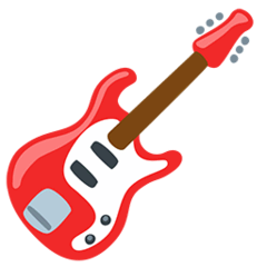 Guitarra Emoji Messenger