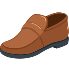 Man's Shoe Emoji in Messenger