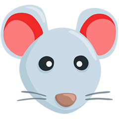 Mouse Face Emoji in Messenger