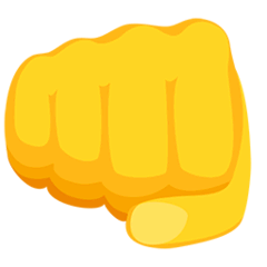 Oncoming Fist Emoji in Messenger