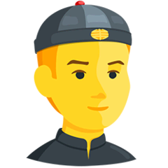 Person With Skullcap Emoji in Messenger