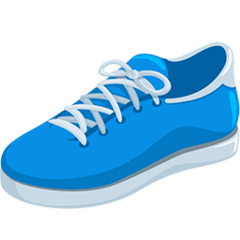 Running Shoe Emoji in Messenger