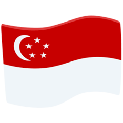 Flag: Singapore Emoji in Messenger