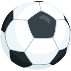 Ballon de foot Émoji Messenger