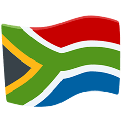 Flag: South Africa Emoji in Messenger