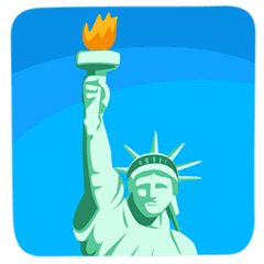 Statue of Liberty Emoji in Messenger
