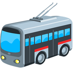Trolleybus Emoji Messenger
