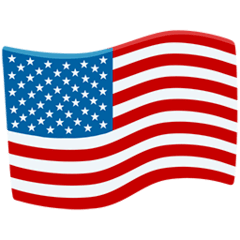 Flag: United States Emoji in Messenger