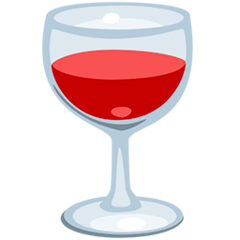 Wine Glass Emoji in Messenger