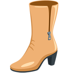 Woman's Boot Emoji in Messenger