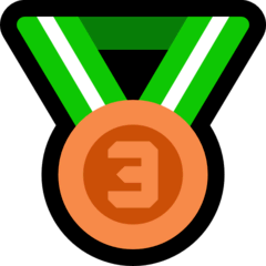 3rd Place Medal Emoji on Windows