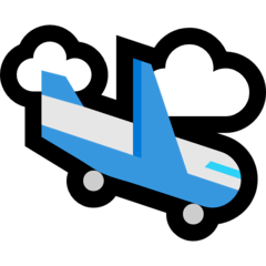Airplane Arrival Emoji on Windows