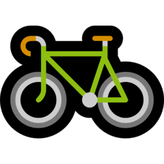 Bicycle Emoji on Windows
