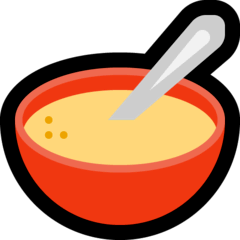 Bowl With Spoon Emoji on Windows