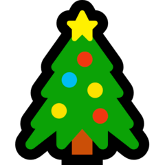 Christmas Tree Emoji on Windows