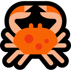 Crabe Émoji Windows