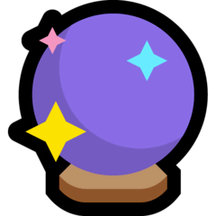 Crystal Ball Emoji on Windows