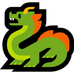 Drache Emoji Windows