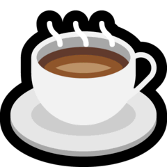 Hot Beverage Emoji on Windows