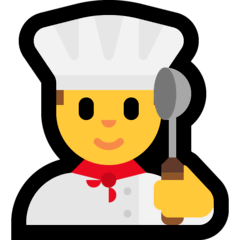 Chef uomo Emoji Windows