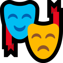 Performing Arts Emoji on Windows