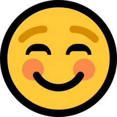 Faccina sorridente Emoji Windows
