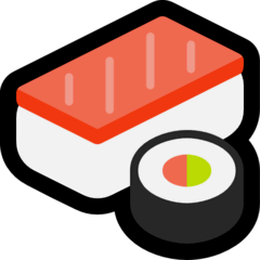 Sushi Emoji on Windows
