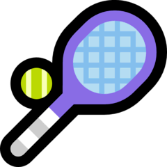 Pelota de tenis Emoji Windows