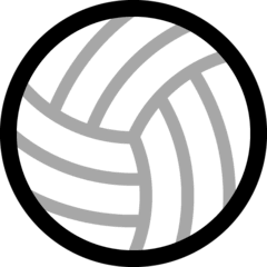 Balón de voleibol Emoji Windows
