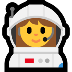 Astronautin Emoji Windows