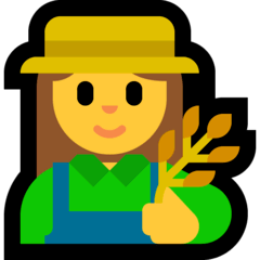 Contadina Emoji Windows
