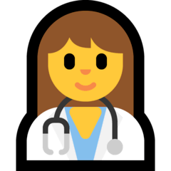 ️Woman Health Worker Emoji on Windows