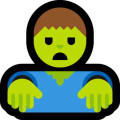 Zombie Emoji on Windows