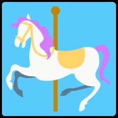 Cavallo della giostra Emoji Mozilla