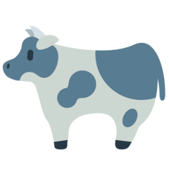 Cow Emoji in Mozilla Browser