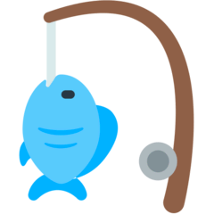 Fishing Pole Emoji in Mozilla Browser