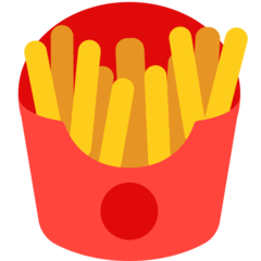 French Fries Emoji in Mozilla Browser