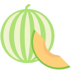 Melon Emoji in Mozilla Browser