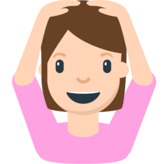 Person Gesturing OK Emoji in Mozilla Browser