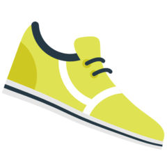Running Shoe Emoji in Mozilla Browser