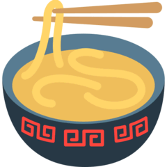 Steaming Bowl Emoji in Mozilla Browser