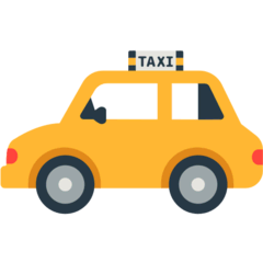 Taxi Emoji in Mozilla Browser