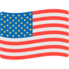 Flag: United States Emoji in Mozilla Browser