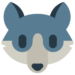 Wolf Emoji in Mozilla Browser